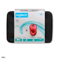 Combo Sleeve y Mouse Inalambrico Logitech Modelo M217 16inch;